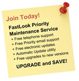 Upgrade now and SAVE on our new FastLook Priority Maintenance Service.